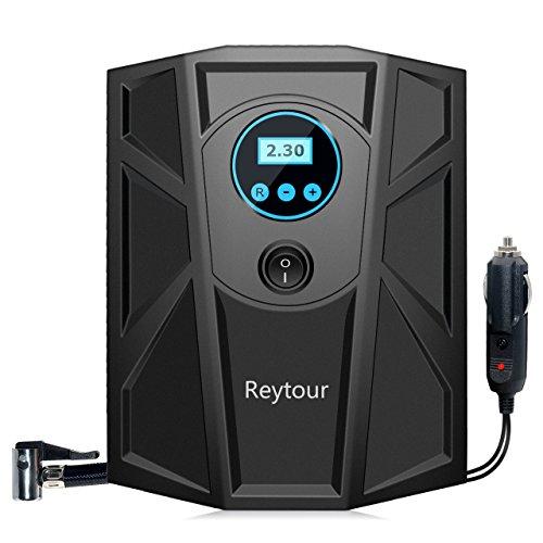 Tire Inflator Digital 12V Portable Auto Air Compressor Pump Preset Pressure 100PSI for Vehicles Tires Balls Inflatable Objects