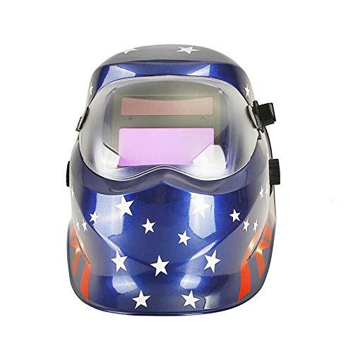Solar Auto Darkening Welding Helmet Mask Solar Power Welder ARC TIG Mig Grinding