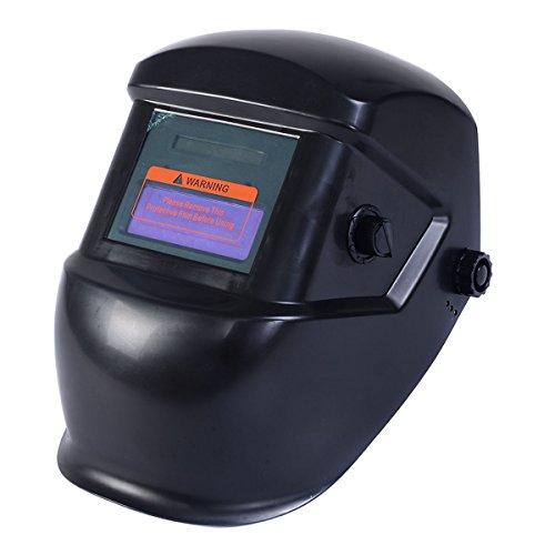 Tangkula Auto Darkening Welding Helmet Mask Welders Arc Tig Mig Grinding Solar Powered