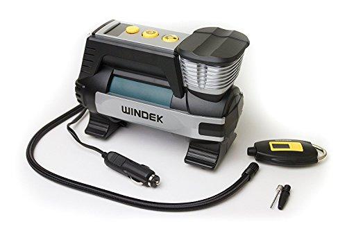 Windek RCP-B62A Rapid Digital Automatic Tire Inflator 12V Pump Compressor Gauge Included