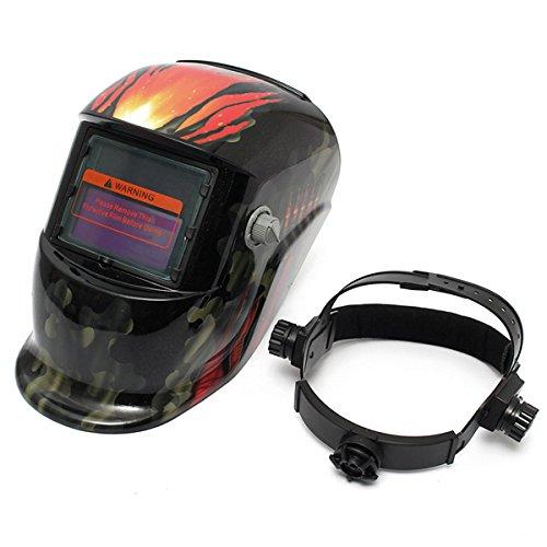 Bullet Camouflag Solar Welder Mask Auto-Darkening Welding Helmet