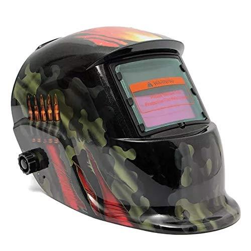 Ctghgyiki Solar Welder Mask Professional Protect Tool Auto Darkening Welding Helmet Welding Helmets