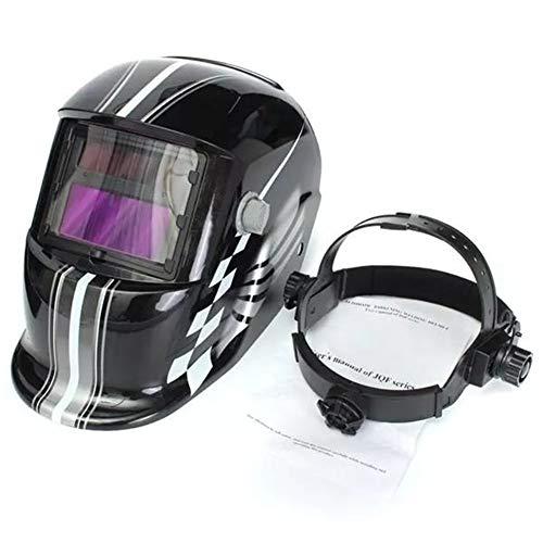 LCHAO Racing Track Auto Darkening Welding Professional Protect Tool Helmet Solar Welder Mask Electric Welding Welder
