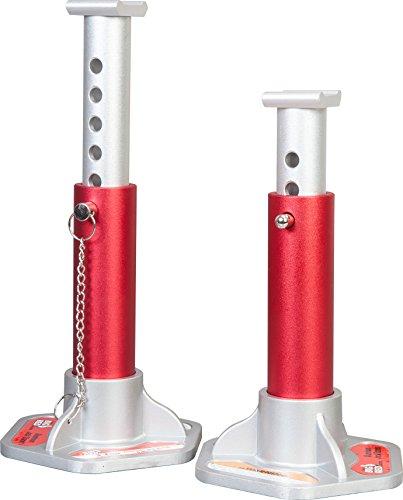 Torin Big Red Aluminum Jack Stands 3 Ton 6000 lb Capacity 1 Pair