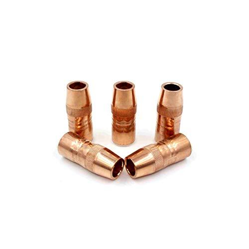 N-5814C Nozzles 14 in Tip Recess 58 Fit Bernard Centerfire MIG Welding Guns PK-10
