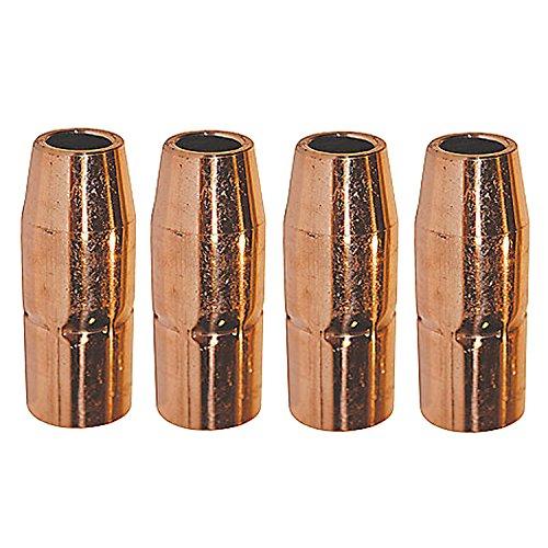 Welding Nozzles 169-724 169724 12 for Miller M25M40 MIG Welding Guns-4PK