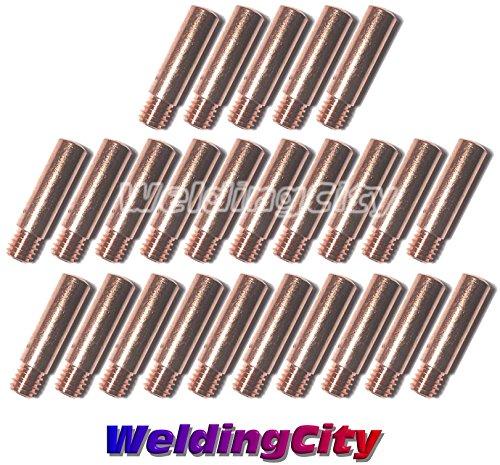 WeldingCity 25-pk MIG Welding Contact Tip 11-30 0030 for Lincoln Tweco MIG Guns 100L Mini