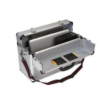 18 X 12 X 8 Aluminum Tool Case with Combination Locks
