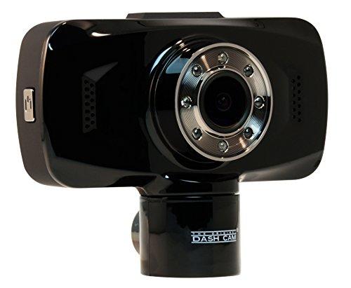 The Original Dash Cam 4SK909 Twister Dual lens 1080P Wide Angle Dashboard Camera Recorder Car Dash Cam with G-Sensor WDR Loop Recording