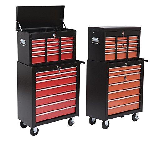 Generic NV_1008004571-QYUS484571 Chest Box Toolbox Tool Cart Rolling Too Rolling Toolbox Cabinets Tool Car Organizer rganizer 16Drawers Storage orage Organizer