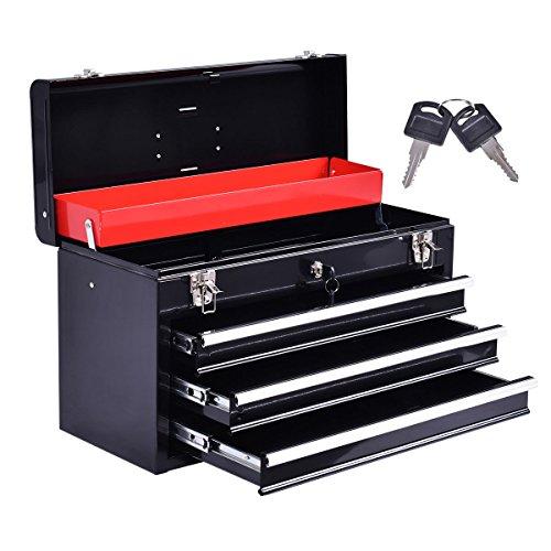 Portable Tool Chest Box Storage Cabinet Garage