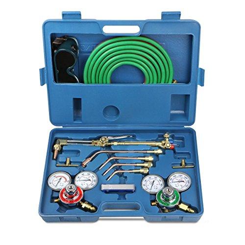 TAVLAR Gas Welding Cutting Kit Oxygen Torch Acetylene Welder Tool