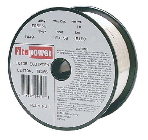 Thermadyne 1440-0241 Firepower ER5356 Metal Inert Gas Wire Aluminum 1-Pound Spool