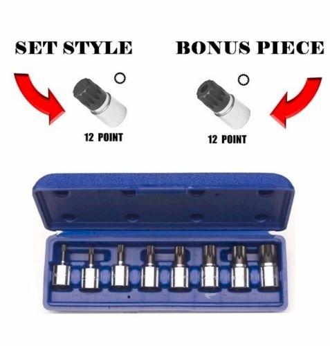 XZN Bonus Metric Socket Set 9 Piece Tools Set VW Volkswagen Audi Porsche