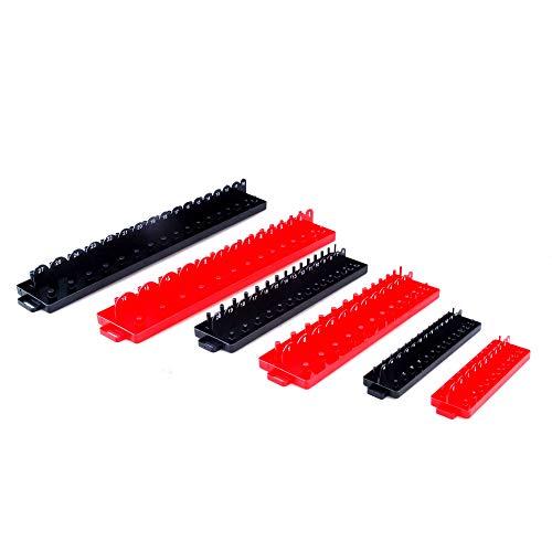 STEEL CORE 30113 6Pc Socket TrayOrganizer Set SAEMetric Renewed