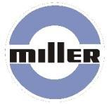 Miller Arc Welder Replacement 6 Light Blue Decals