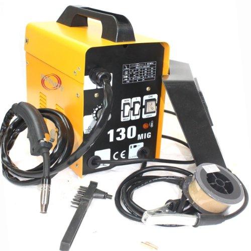 InfinityUS 120AMP MIG 130 220V Flux Core Welding Machine Welder Spool Wire Auto Feed  Fan