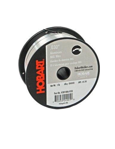 Hobart H381806-R18 1-Pound ER4043 Aluminum Welding Wire 0030-Inch