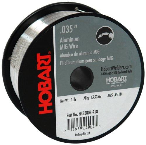 Hobart H383808-R18 1-Pound ER5356 Aluminum Welding Wire 0035-Inch
