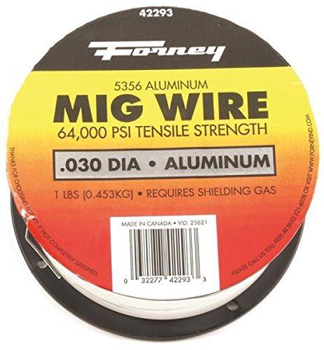 New Forney 42293 Aluminum Welding Wire 1 Lb Spool 030 Mig Welder 8915589