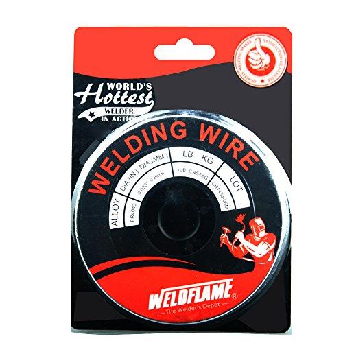 Weldflame ER4043 1-Pound General Purpose Aluminum Welding Wire 0035 Inch