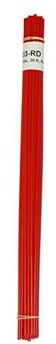 Polyethylene LDPE Plastic Welding Rod 18 Diameter 30 Ft Red