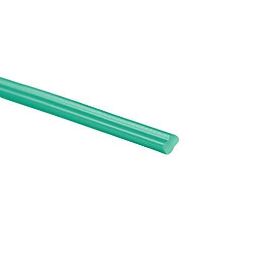 uxcell PP Plastic Welding Rods5mm Wide25mm Thick08 MeterWelding SticksPolypropylene Welding Rodfor Plastic Welder GunHot Air GunGreen6pcs