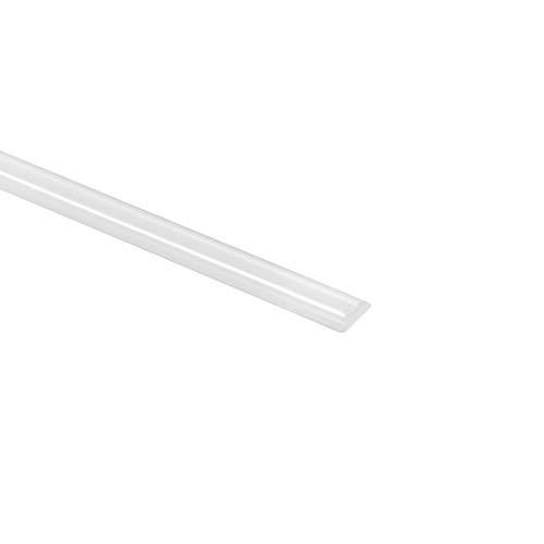 uxcell PP Plastic Welding Rods5mm Wide25mm Thick1MeterWelding SticksPolypropylene Welding Rodfor Plastic Welder GunHot Air GunWhite