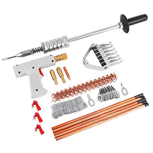 Bestauto Auto Body Repair Panels Spot Welding Kit Car Spotter Stud Welder Gun Equipment for Car Hail Damage