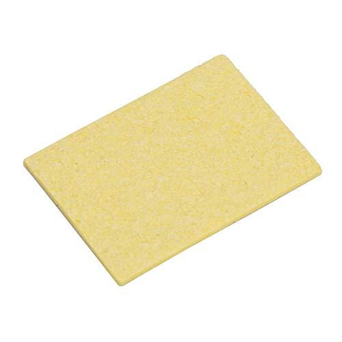 10 Pcs Thin Soldering Iron Sponge Electric Welding Iron Tip Cleaning Sponge Pad for Cleaning Iron TipRectangle535cm197138in