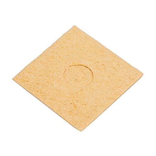 10 Pcs Thin Soldering Iron Sponge Electric Welding Iron Tip Cleaning Sponge Pad for Cleaning Iron TipSquare6 6cm  236 236in