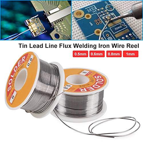 Hot Sale 05Mm06Mm08Mm1Mm Welding Tin Lead Line Flux Welding Iron Wire Reel Welding Solder Wire For Welding 1Pc J3 08mm