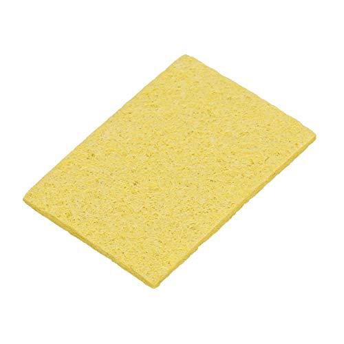 NITRIP 10 Pcs Thicken Soldering Iron Sponge Electric Welding Iron Tip Cleaning Sponge Pad SpongeRectangle