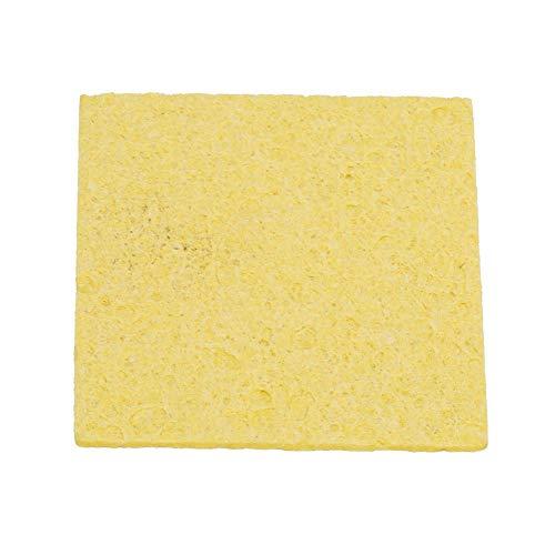 NITRIP 10 Pcs Thicken Soldering Iron Sponge Electric Welding Iron Tip Cleaning Sponge Pad SpongeSquare
