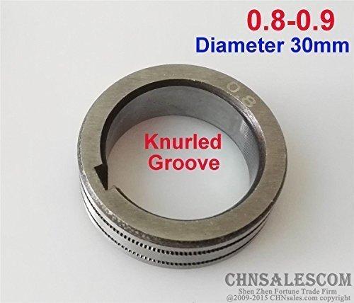 CHNsalescom Wire Feed Roller Knurled Groove 08-09 Diameter 30mm MIG MAG Welding Machine