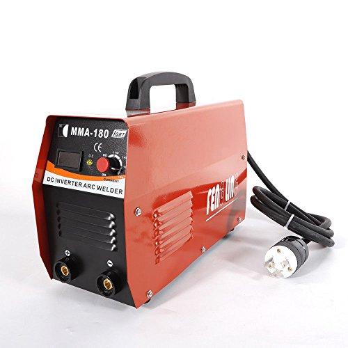 WUPYI ARC Welding Machine Handheld Mini MMA180 Electric Inverter Welder Welding MachineUse Welding Rod Equipment Tools Accessories20-180A AC110V220V
