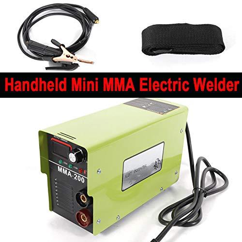 Welding Machine TBVECHI MMA-200 IGBT DC Inverter MMA ARC Welding Machine Portable 110V- 220V Welder