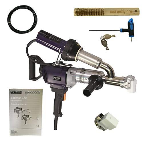 Weldy AC220V Handheld Plastic Extrusion Welding Machine Extruder Welder Gun Booster EX2