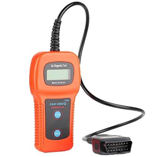 U480 CAN OBD2 OBD II Car Diagnostic Scanner Engine Code Reader Tool