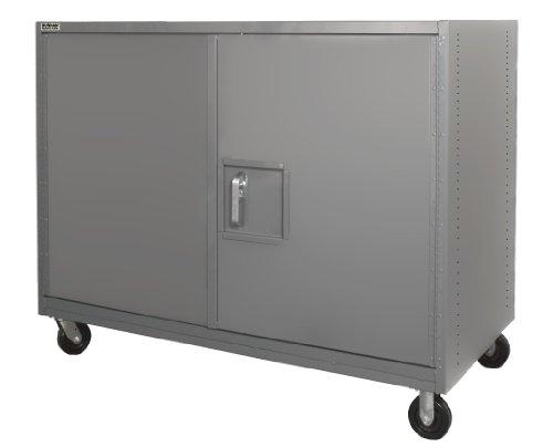 Durham 14 Gauge Steel Solid Security Truck HTLS-3672-DD-95  2000 lbs Capacity  36 Length x 72 Width x 57 Height