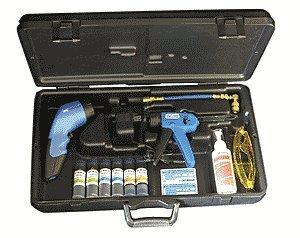 Robinair 16330 UV Leak Detection HVAC-R Dye Kit 12 LED array Cordless Rechargeable UV Light