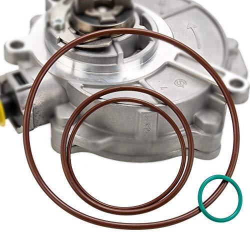 Vacuum Brake Pump Seals Rebuild Kit For 2005-20085 Audi TT A3 A4 Quattro VW Jetta GTI GLI Passat 20T FSI MKv B6 8P B7 Gasket O-Ring OE 06D145100H 06D145100E 06D145117A