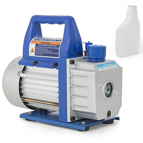 ARKSEN Rotary Vane Deep Vacuum Pump 13-HP 3CFM Air Conditioner Refrigerant HVAC 14 Flare Inlet Port