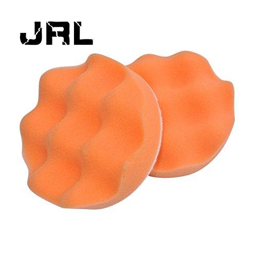 JRL 4 Sponge Buffer Waffle Polishing Foam Buffing Pads For Car Polisher