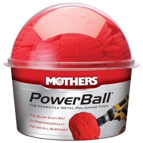 Mothers 05140-6 PowerBall Metal Polishing Tool Pack of 6