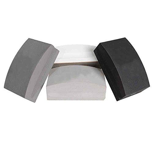 Specialty Diamond BRTHPSET 4 Piece Electroplated Hand Polishing Pad Set