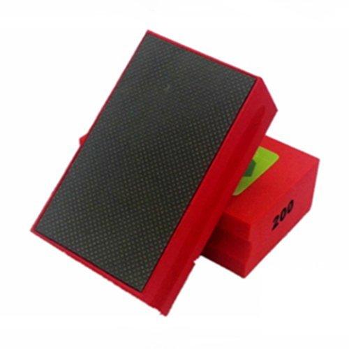 TOOGOOR 1pcs 200 Grit Diamond Hand Polishing pads