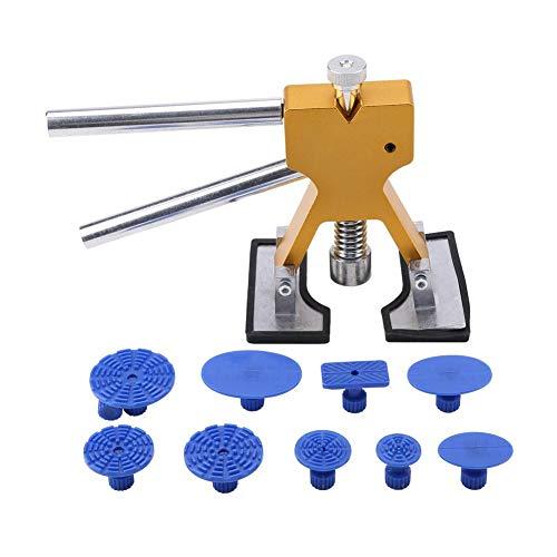 Gorgeri 11Pcs Car Dent Repair ToolPaintless Dent Removal Repair ToolLifter Glue Puller Taps Kit Car Body Maintaince Tools Set