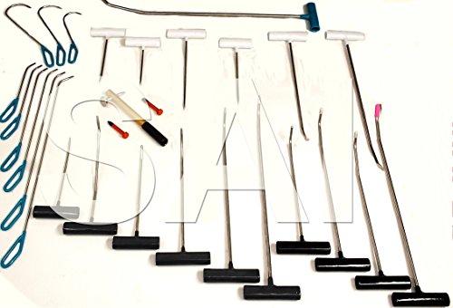 SAI 29pc PDR Hail Repair Dent Repair Tool Set PROs Brand Made in USA
