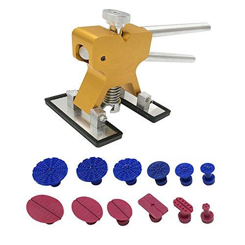 dent Lifter Puller Paintless Dent Repair Tools Set PDR Golden Dent Lifter Hail Repair Dent Removal PDR Tools